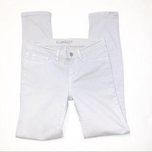 J Brand Heliotrope Lavender Skinny Jeans Size 25